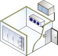 Cuartos Frios para conservación y congelación - RCR Refrigeracion